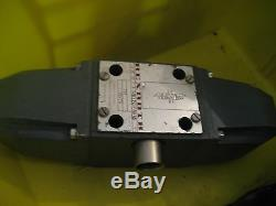 Rexroth Hydraulic Directional Control Valve Solenoid Hydro Norma # 4WE10E41 WL70
