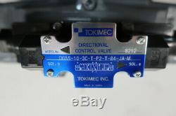 Tokimec DG5S-10-3C-T-P2-T-84-JA-M Hydraulic Directional Control Valve