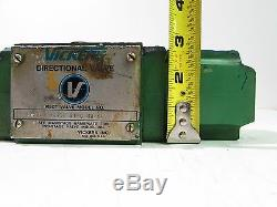 Vickers 434917 Dg4s4 016c Wb 50 Hydraulic Directional Control Valve Good
