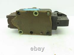 Vickers DG17S88C10 Hydraulic Directional Valve Manual Hand Lever Spring Return