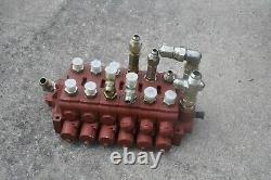 Wajax S097-25-2865 Hydraulic Directional Control Valve Hemtt Mk48 Crane