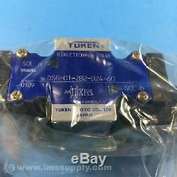 Yuken DSG-01-2B2-D24-60 Hydraulic Directional Solenoid Valve FNOB