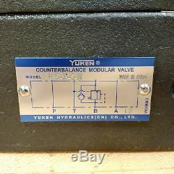 Yuken DSG-01-2D2-D24-70 Hydraulic Directional Valve Assembly, 24 Volt Coil