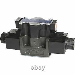Yuken Spool-Style 2 Hydraulic Directional Control Valve 26 GPM 4570 PSI 3-Pos
