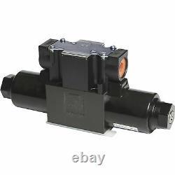 Yuken Spool-Style 5 Hydraulic Directional Control Valve 13 GPM 5080 PSI
