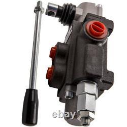 1 Bobine Hydraulique Directionnelle Valve Réglable Pression 11 Gpm 4300 Psi