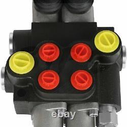 2 Bobine 13 Gpm Valve De Commande Directionnelle Hydraulique