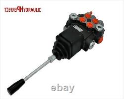 2 Bobine Hydraulique Directionnelle Valve Joystick 21gpm 80l Double Action