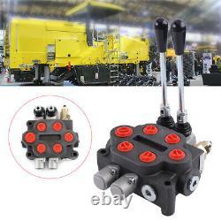 2 Chargeuse Tracteur À Soupape De Commande Directionnelle Hydraulique De 25 Gpm Avec Joystick Us