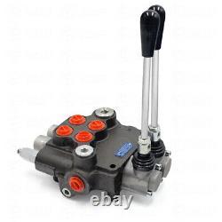 2 Soupape Hydraulique De Commande Directionnelle Valve 11gpm Réglable Pour Tracteurs Chargeur