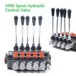 21gpm Hydraulique-distributeur Réglable 6 Spool Pour Chargeuses Tracteur