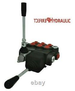 3 Bobine Hydraulique De Commande Directionnelle Valve Joystick 21gpm 80l 3x Double Action