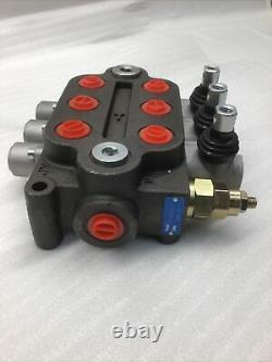3 Bobine Zt-l20-3 Valve Hydraulique De Commande Directionnelle 25gpm Double Action 3000psi