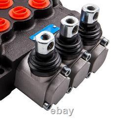 3 Valve De Commande Directionnelle Hydraulique De Bobine 11gpm Valve De Dégagement Réglable Nouvelle