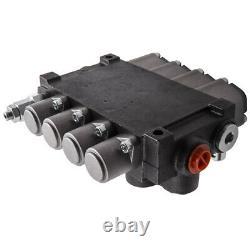 4 Soupape De Commande Directionnelle Hydraulique À Bobine Max Flow 11 Gpm Pour Chargeuses Tracteurs