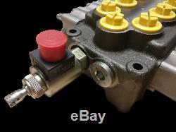 4 Soupape De Commande Directionnelle Hydraulique Bobine 13gpm Hc-m50 / 4 Avec Soupape De Décharge, 69309