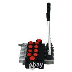 4 Valve De Commande Directionnelle Hydraulique De Bobine 11gpm 4300psi Petits Tracteurs 40l/min