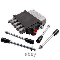4 Valve De Commande Directionnelle Hydraulique De Bobine11 Gpm 3600 Psi Pour Chargeurs De Tracteurs