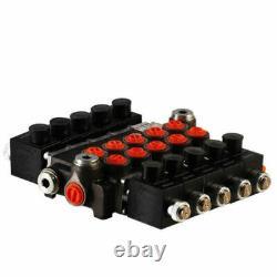 5 Bobine Hydraulique Sénoïde Directionnelle Valve De Commande 21gpm 12vdc, Monobloc
