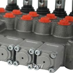 5 Bobine Valve De Commande Directionnelle Hydraulique 11gpm Sae Ports Cylindre Bobine