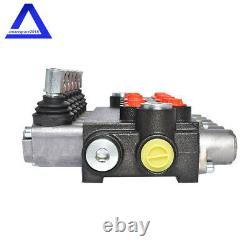 6spool Hydraulic Directional Control Valve 11gpm Valve De Secours Réglable Durable