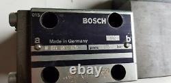 Bosch 0831006003 Soupape De Commande Directionnelle Proportionnelle Ventil Hydraulique