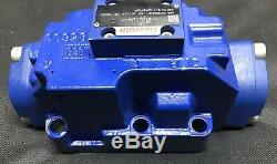Bosch Rexroth 4 Way Hydraulique Ng25 Vanne Directionnelle R978859321 4wh 22c76 / V