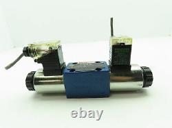 Bosch Rexroth 4we 6 J5-62/eg249k4 Valve De Bobine Solénoïde Directionnelle Hydraulique 24v