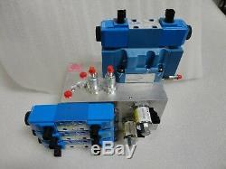 Cas Cnh 84541643 A8000 A8800 Collecteur Hydraulique Valve 5001012-003 Directionnel