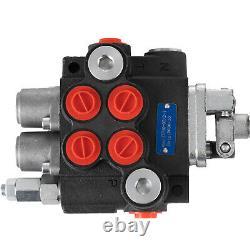 Chargeur De Commande Directionnelle Hydraulique Avec Joystick, 2 Bobines, 11 Gpm