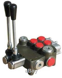 Chef 2p80 Hydraulique Directionnel Valve, 2 Spool
