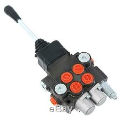 Commande De Direction Hydraulique Tracteur Valve Chargeur Avec Joystick Réglable