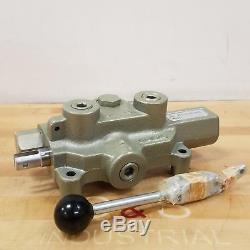 Dayton 6x844a Hydraulique-distributeur, 1/2 Ports, 3000 Psi Nouveau
