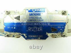 Dg4v-5-2c-m-p7l-h-6-30 Vickers Contrôle Directionnel Hydraulique Vanne Solénoïde 120v