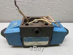 Eaton Vickers Dg4s4-012c-b-60 Hydraulique Directionnel Vanne De Régulation