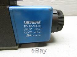 Eaton Vickers Dg4v-3s-6c-m-fw-b5-60 Directionnelle Hydraulique De Commande De Soupape