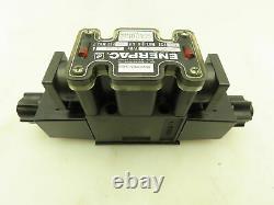 Enerpac D1vw4cnych672x4550 Valve Solénoïde De Commande Directionnelle Hydraulique 120v