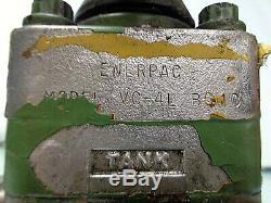 Enerpac Vc-4 Voies Directionnelle 4l Hydraulique Vanne De Régulation