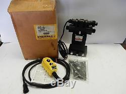 Enerpac Ve43-115 4 Voies Électrique Hydraulique Valve Avec Pendentif Commande Directionnelle