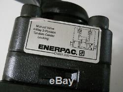 Enerpac Vm-4l, Directionnel À 4 Voies, En Position 3, Le Réservoir De Blocage, Vanne Hydraulique