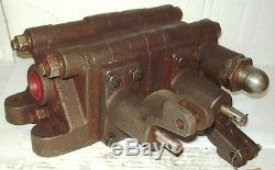 Galion Dresser 2 Spool Mobile Hydraulique De Contrôle Directionnel Valve 59556