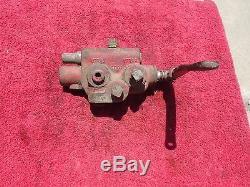 Gresen 1-spool Hydraulique De Commande Avec Vanne Directionnelle Levier # 1085