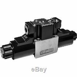 Hgr Nickelé Hydraulique-distributeur 16,5 Psi 4560 Gpm