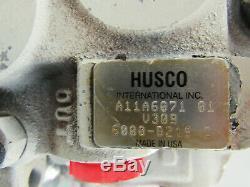 Husco 6000-b219 C Directionnelle Hydraulique De Commande De Soupape 2 Spool 6004-d 6005-w