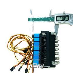 Hydraulique 7ch-distributeur D'huile Contrôleur Vanne Avec Pour 1/12 Rc Exca