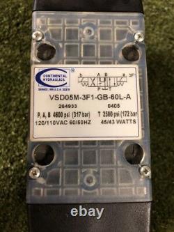 Hydraulique Continental Vsd05m-3f1-gb-60l-a Solenoïde Solenoid. Loc 49c