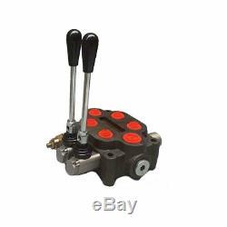 Hydraulique De Commande Directionnelle Valve 25gpm 2 Spool Max. 3000psi Fonctionnement Manuel