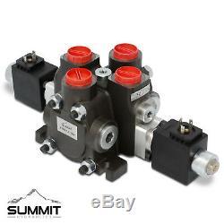 Hydraulique Solenoid-distributeur Double Effet, 1 Spool, 27 Gpm, 12