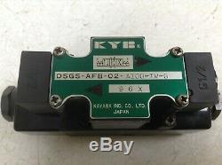 Kyb Kayaba Gsd-afb-02-a100-tm-g Directional Valve 100 Vac (tsc)