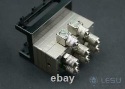 Lesu Directional 3ch Hydraulic Valve Part Truck Tipper Dump Loader 1/14 Rc Modèle